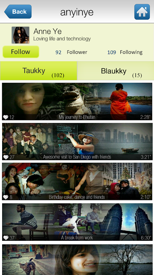 Taukky - where Pics Talk - screenshot