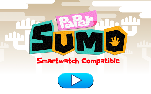 Paper Sumo with Smart Watch