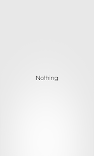 Nothing: miniatura de captura de pantalla