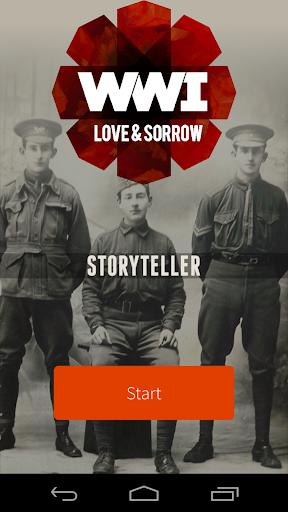 Storyteller: WWI Love Sorrow