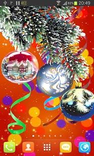 Christmas PRO live wallpaper screenshot