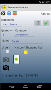 Saving Grocery Shopping List- screenshot thumbnail