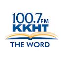 100.7 KKHT logo