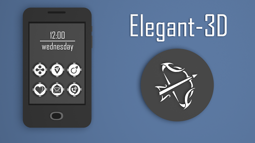 Elegant-3D Icon Pack