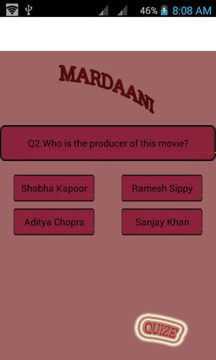 Mardani --Movie quize