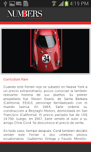 Revista Numbers - screenshot thumbnail