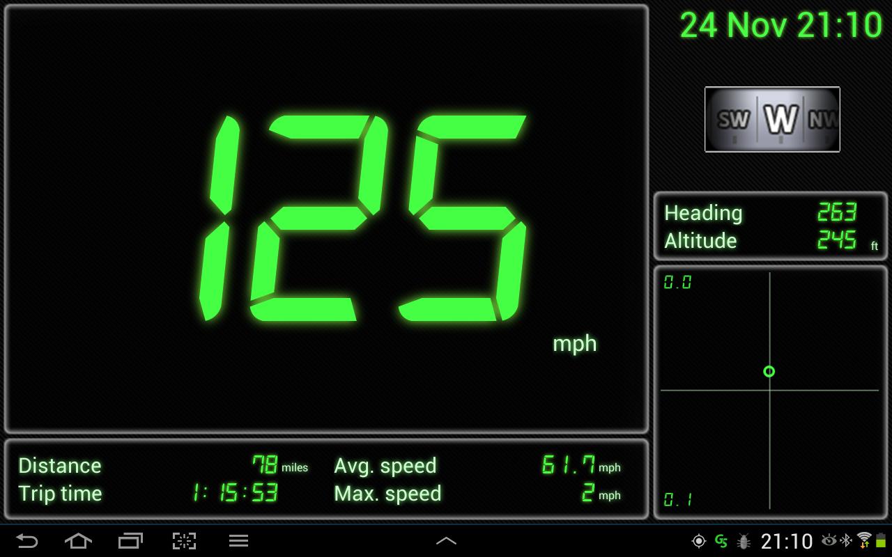 GPS Speedometer - screenshot