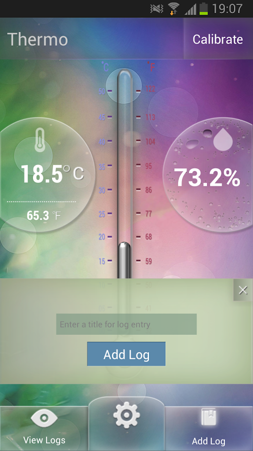 Thermo for Samsung Note 3 & S4- screenshot
