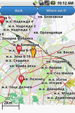 Sofia Amenities Map free