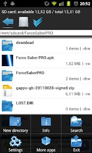 Fast File Manager - screenshot thumbnail