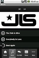 Screenshot of JLS Official