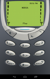 Classic Snake - Nokia 97 Old - screenshot thumbnail