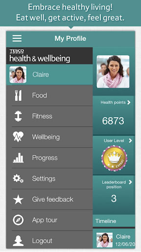 Tesco Health and Wellbeing