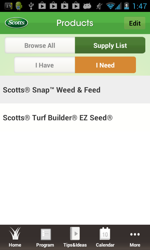 My Scotts Lawn - screenshot