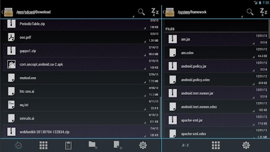 Duo: Holo File Manager w/ Root - screenshot thumbnail