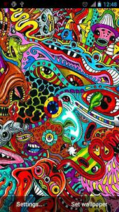 Bláznivý Trippy Živé tapety - náhled