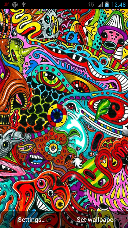 crazy trippy backgrounds for - photo #23