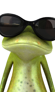Cartoon Frog Live Wallpaper - screenshot thumbnail