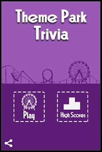 Theme Park Trivia - screenshot thumbnail