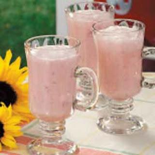 Creamy Strawberry Punch.