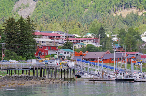 Haines-hills-Alaska - The picturesque town of Haines, Alaska.