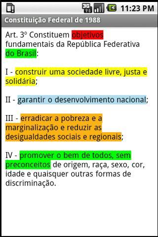 Vade Mecum Juridico Lite - screenshot