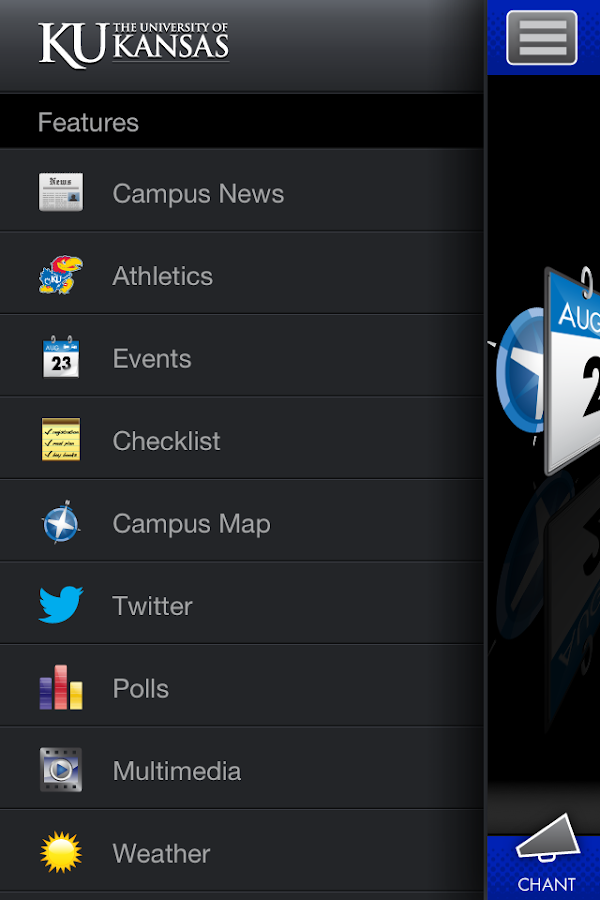 University of Kansas - screenshot