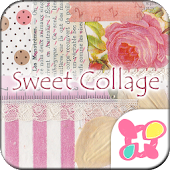 FREE THEMES★Sweet Pink Collage