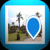 GPS Photo Viewer use HereMap