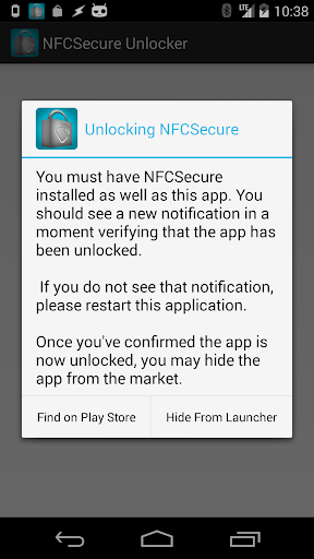 NFCSecure Unlocker OLD