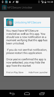 NFCSecure Unlocker (OLD) - screenshot thumbnail