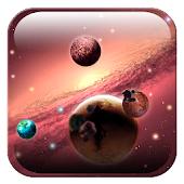 Galaxy 3D space HD LWP