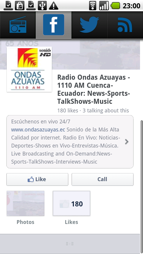 Radio Ondas Azuayas- screenshot
