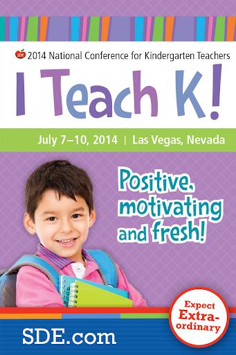 SDE's I Teach K 2014