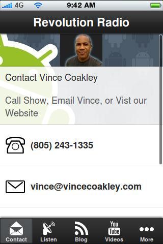 Revolution Radio Vince Coakley