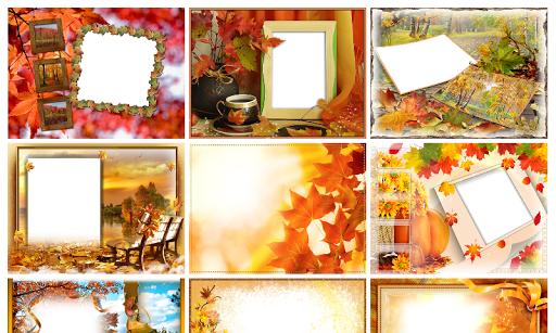 Autumn Photo Frames