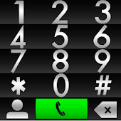 THEME PURE BLACK FOR EXDIALER