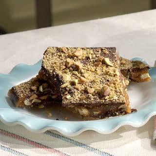 Chocolate Pistachio Brittle.