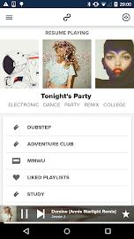 8tracks playlist radio Screenshot 1
