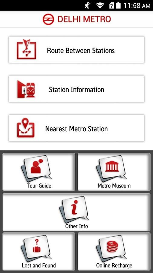 Delhi Metro Rail - screenshot