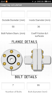 Flange Coupling Torque screenshot 1