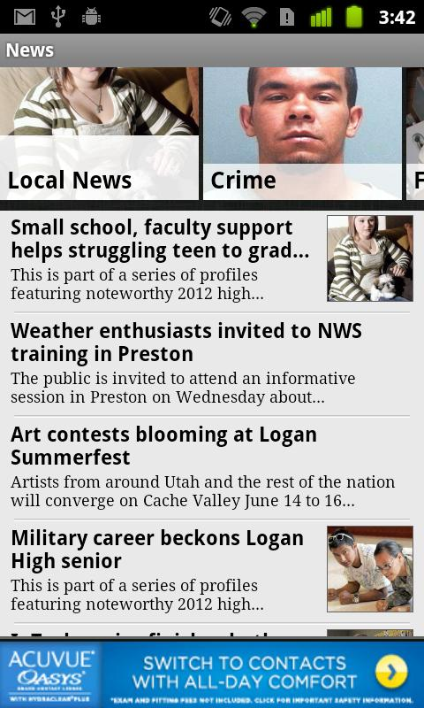 The Herald Journal - screenshot