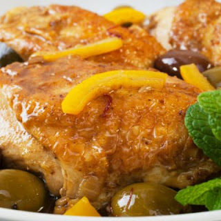 Moroccan Crockpot Chicken