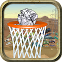 Big Win Trash Basketball Shoot icon