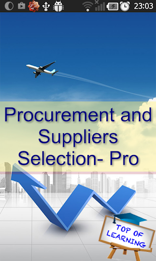 Tender Suppliers Selection