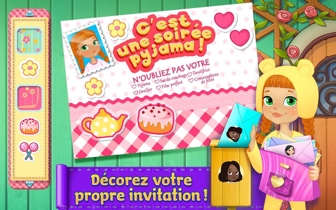 Pyjama Party Invite as best invitations layout