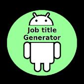 Job Title Generator