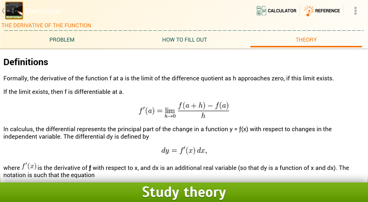 Algebra Calculus Integrals Fre - screenshot