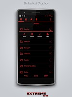 Screenshot of JB Extreme Theme Red CM11 CM12