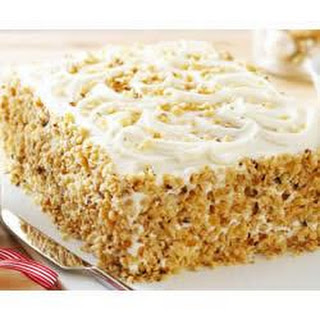 BREAKSTONE'S Creamy Banana-Sour Cream Cake.